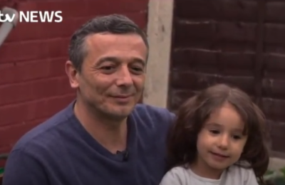 Syrian refugee family saved from war by community church